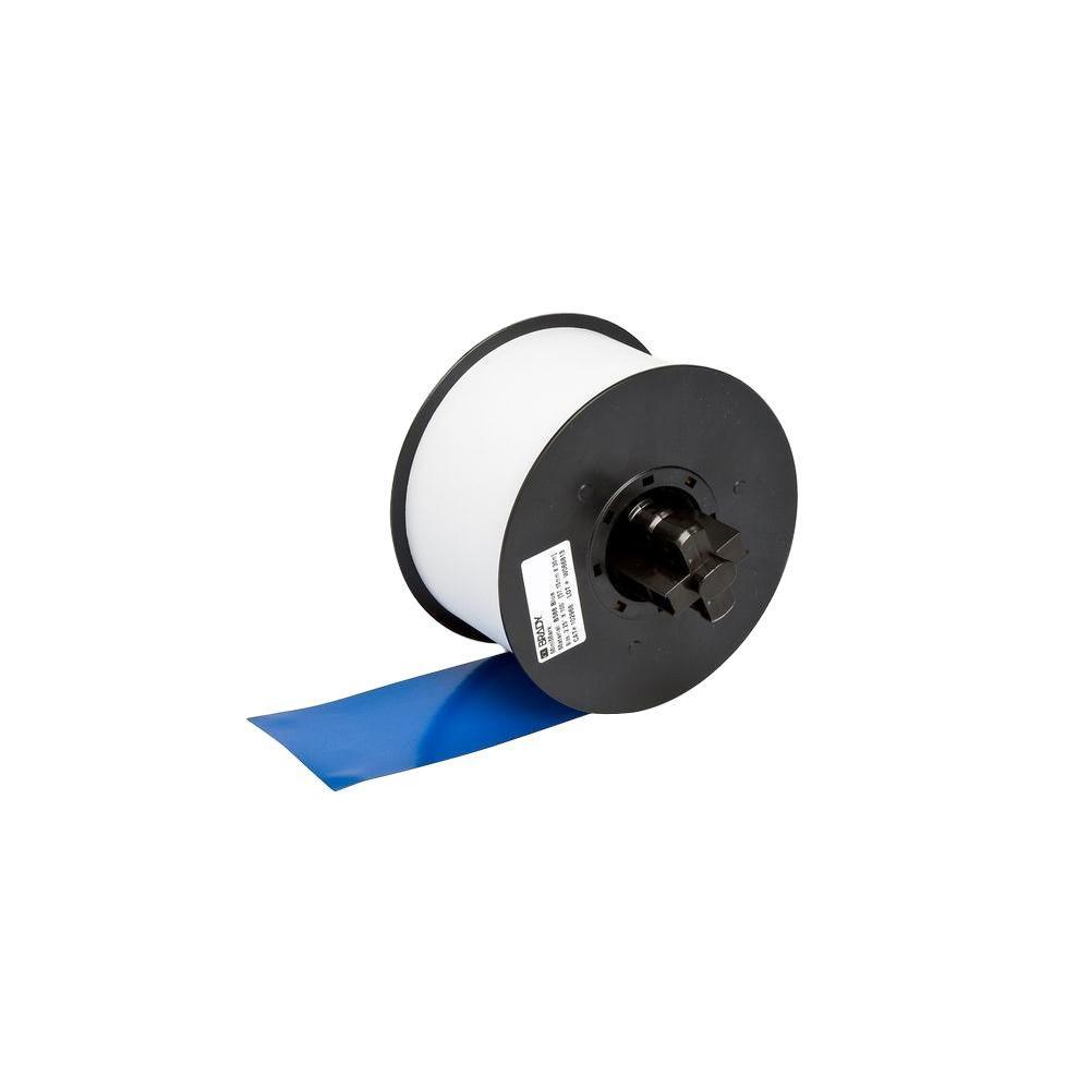 MiniMark Industrial Printer General Purpose 4 in. x 110 ft. Vinyl Blue Tape