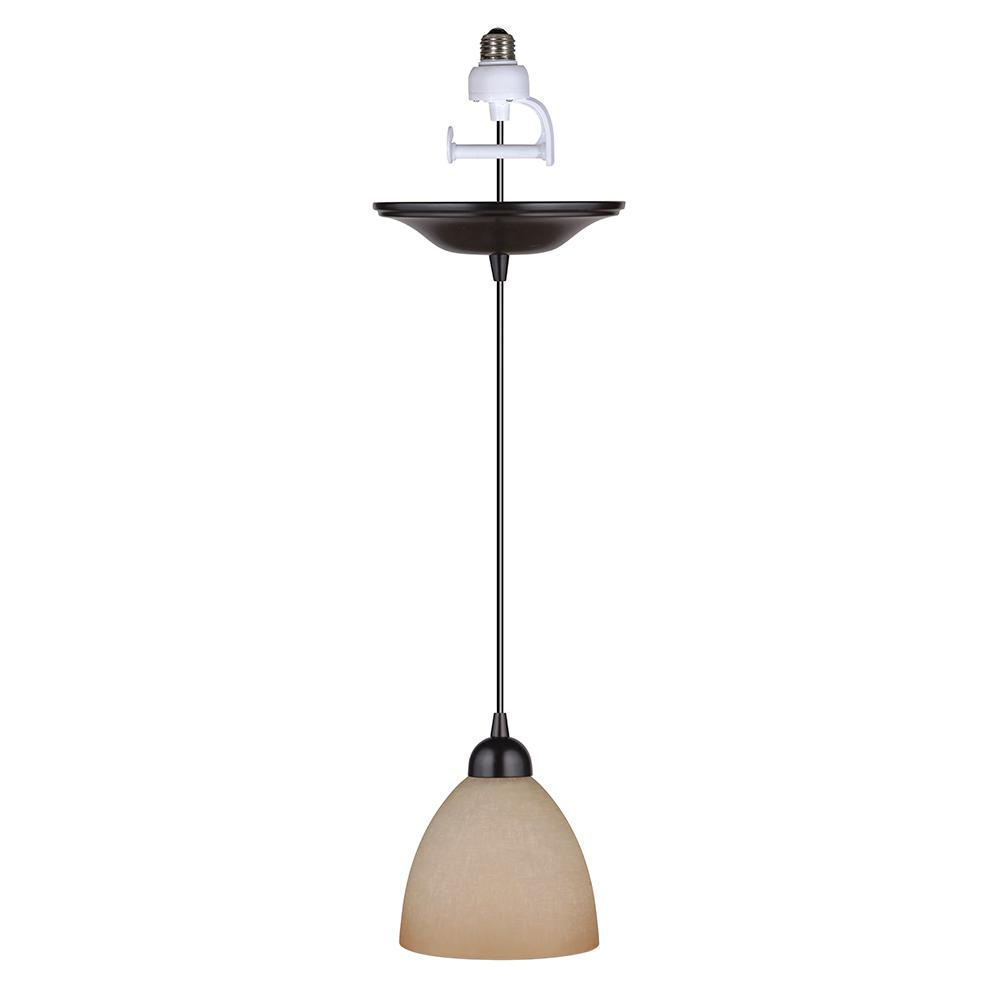 Worth Home Products Instant Pendant 1 Light Recessed Light
