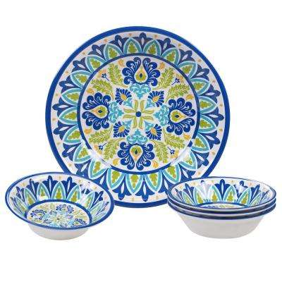Martinique Multicolor Salad/Serving Set (Set of 5)