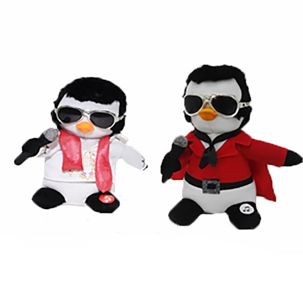 Elvis Animated and Musical Penguin Assortment - Plays 1 Song in 2 ...