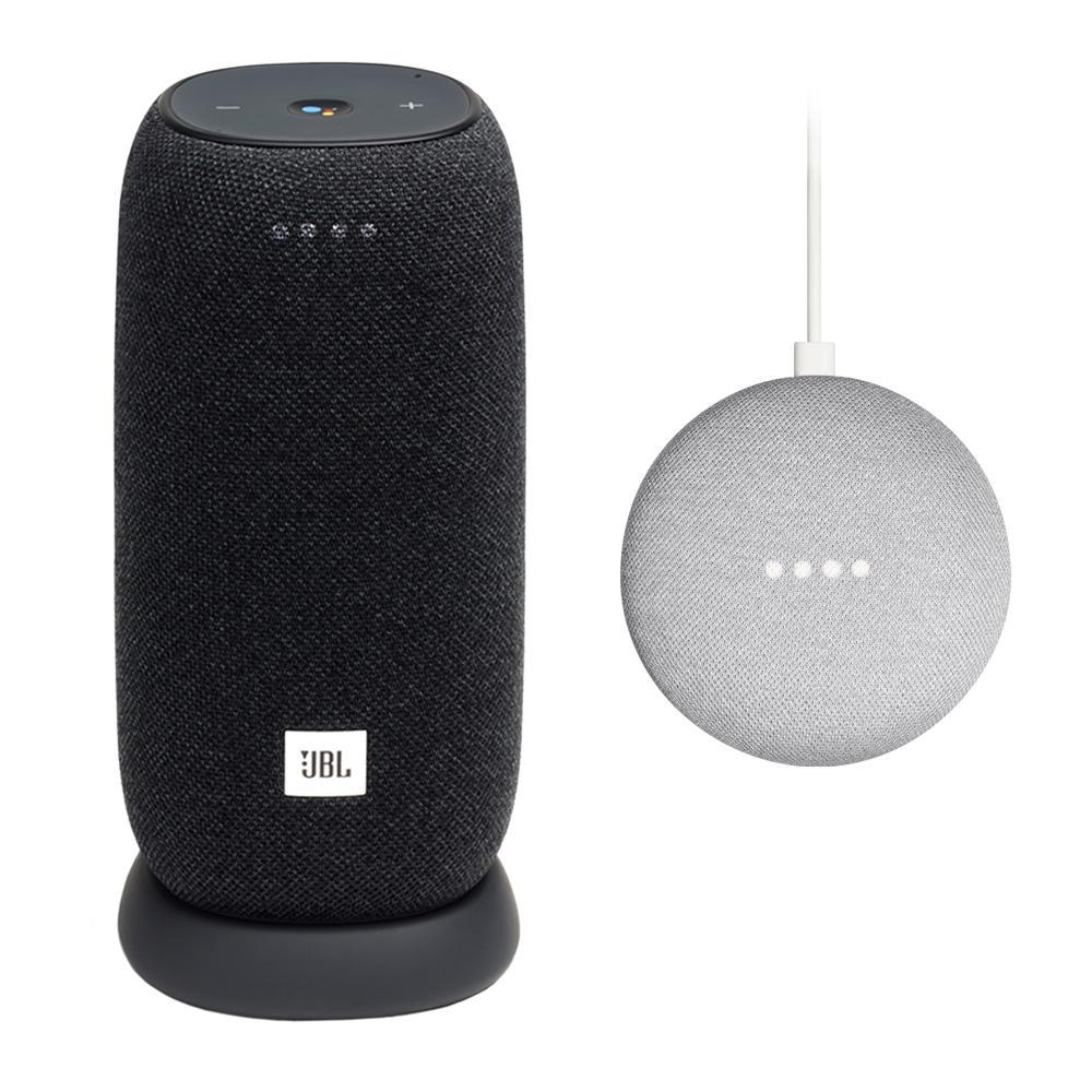 GA00210-US NEW Google Home Mini Voice Assistant Bluetooth Speaker Charcoal