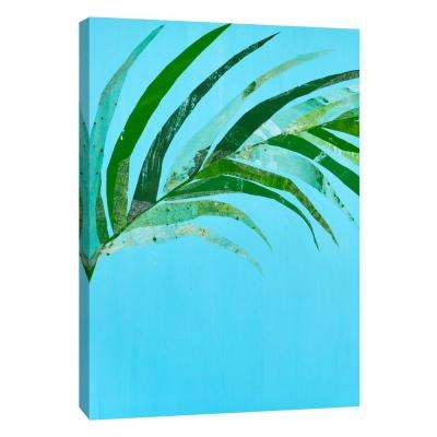 12 in. x 10 in. ''Summertime In Blue 2'' Printed Canvas Wall Art