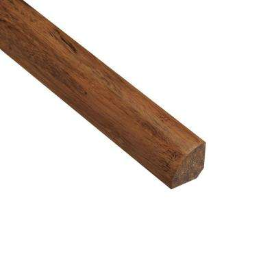 Strand Woven Saddle 3/4 in. Thick x 3/4 in. Wide x 94 in. Length Bamboo Quarter Round Molding