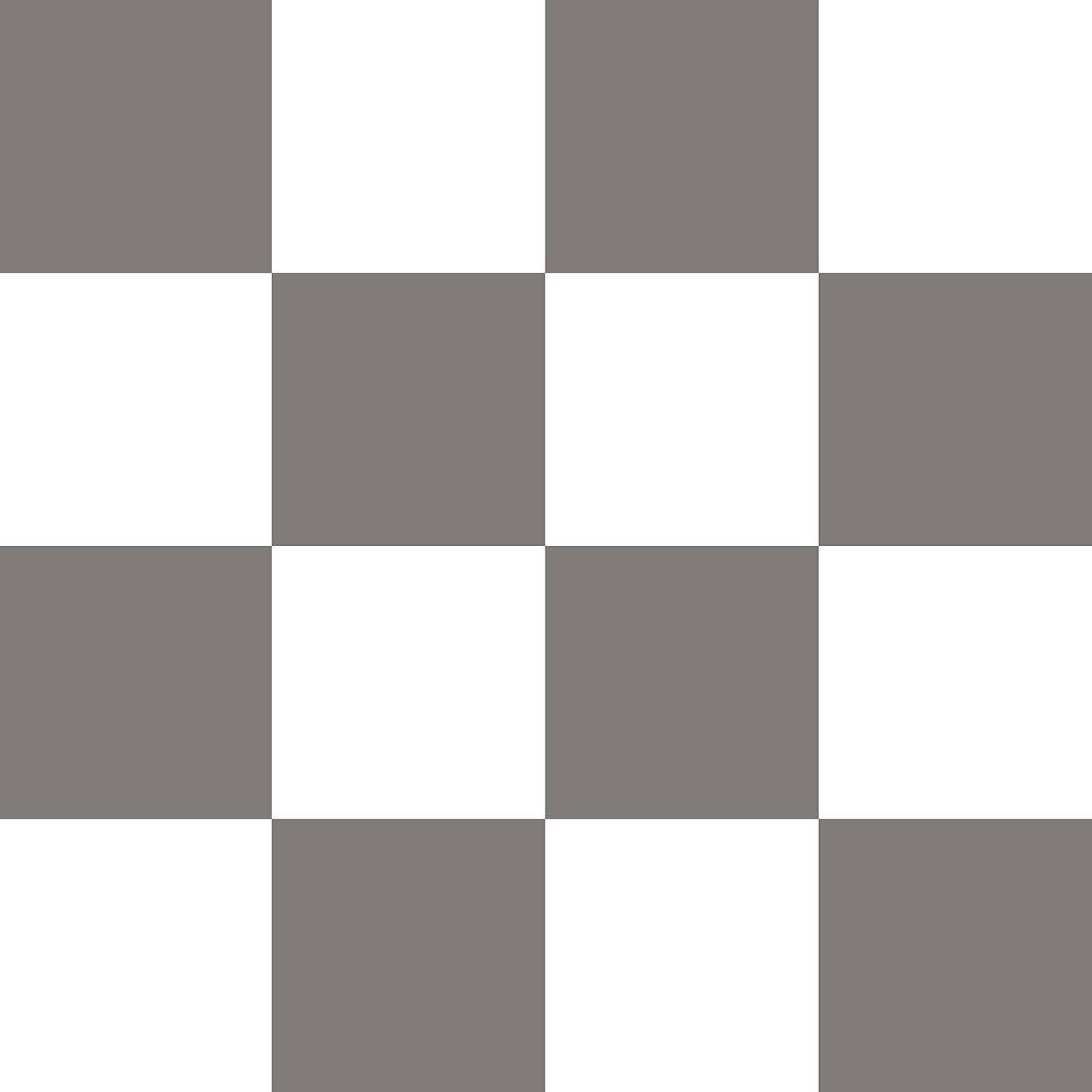 Take Home Sample Checkered Grey Tile Residential Sheet Vinyl Flooring 6 In X 9