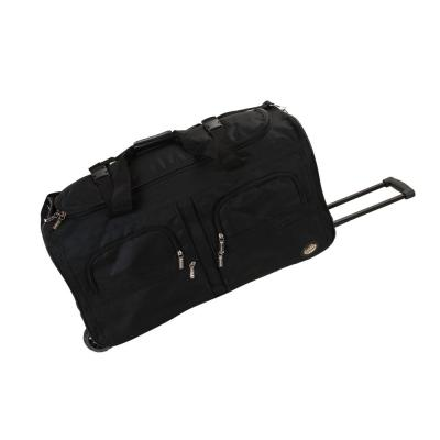 Rockland Voyage 36 in. Rolling Duffle Bag, Black