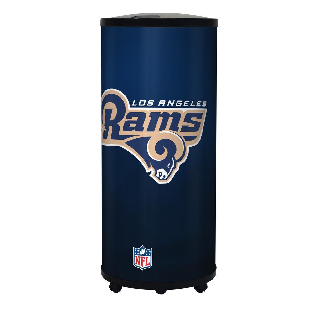 22 qt. Los Angeles Rams Ice Barrel Cooler