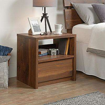 Harvey Park 1-Drawer Grand Walnut Nightstand