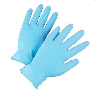 Powder Free Nitrile Disposable Gloves, XLarge - 100 Ct. Box, sold by the case