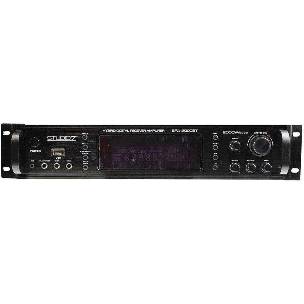AUDIOPIPE Digital Home Audio Hybrid Radio Receiver 2-Channel Amplifier
