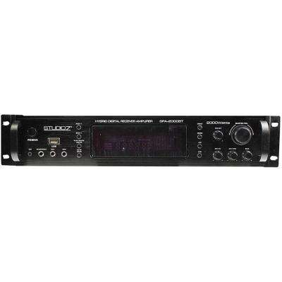 Digital Home Audio Hybrid Radio Receiver 2-Channel Amplifier