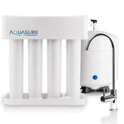 Premier Series Alkaline Remineralizing Reverse Osmosis Water Filtration System with Chrome Faucet
