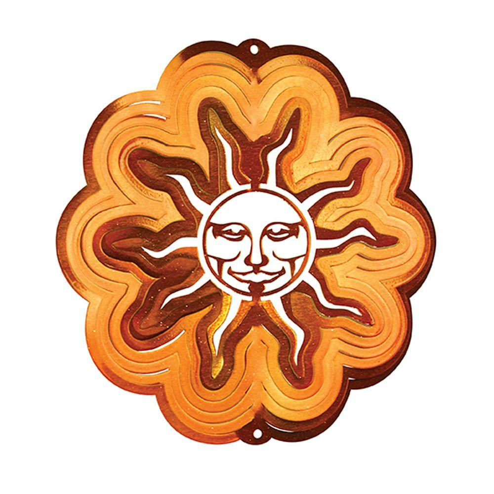 Iron Stop Large Copper Sun Wind Spinner-DISCONTINUED