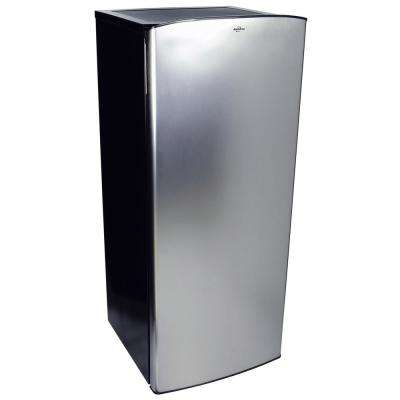 6.2 cu. ft. Built-In Top Freezer Refrigerator in Stainless Steel