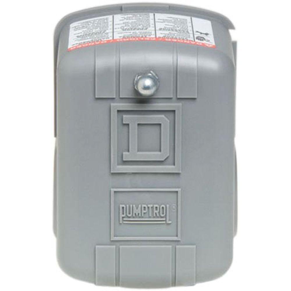 Square D 20-40 psi Pumptrol Water Pressure Switch