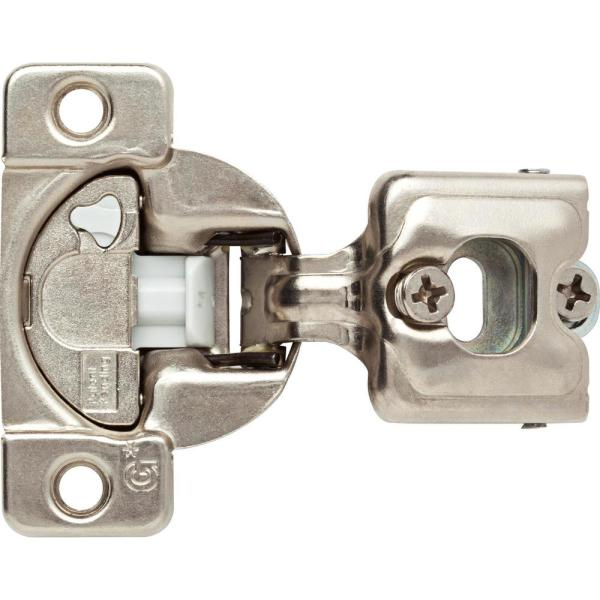 35 mm 3/4 in. Overlay Soft-Close Frame Hinge (5-pair)