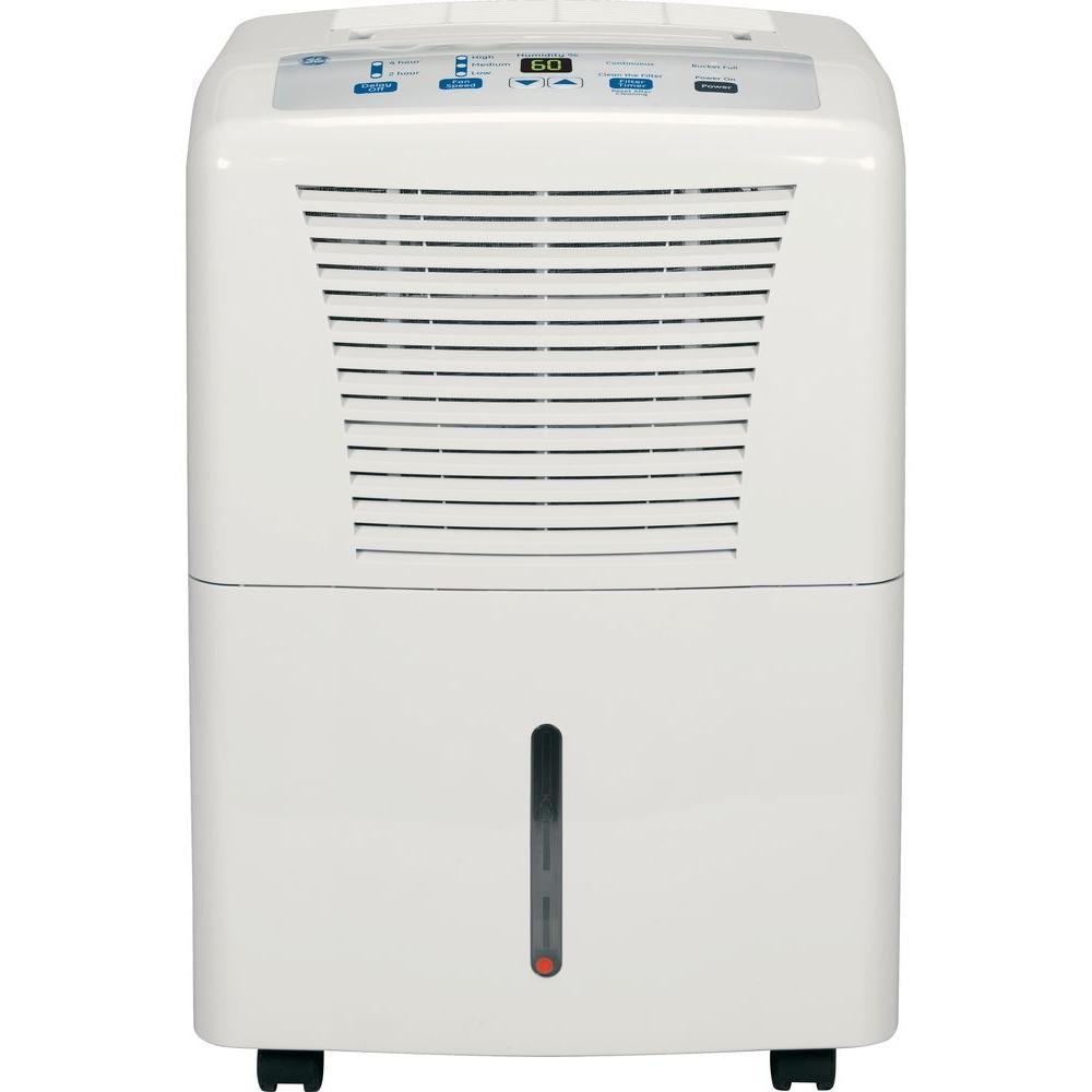 ge 30 pint dehumidifier adel30lr the home depot rh homedepot com Lowe's Dehumidifiers for Home Haier Dehumidifier Parts
