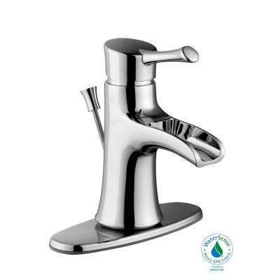 Gatsby I 4 in. Centerset 1-Handle Bathroom Faucet in Chrome