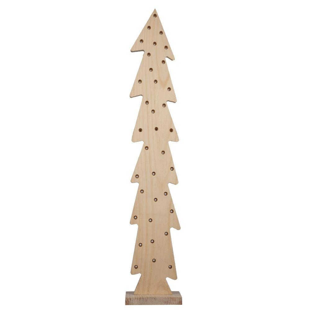 Wood Christmas Tree 94562 The Home Depot