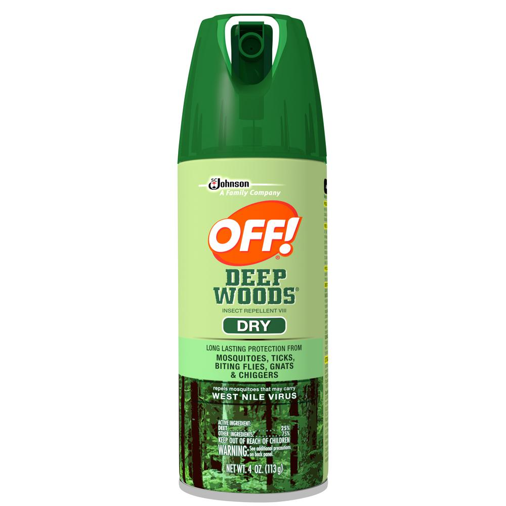 OFF! 4 oz. Deep Woods Dry Insect Repellent