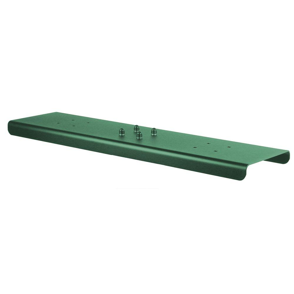 2-Wide Spreader for Salsbury Roadside Mailboxes in Green