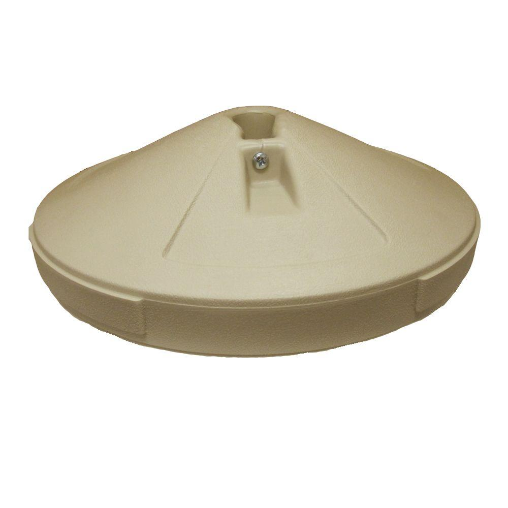 Patio Umbrella Base in Taupe-98600110 - The Home Depot