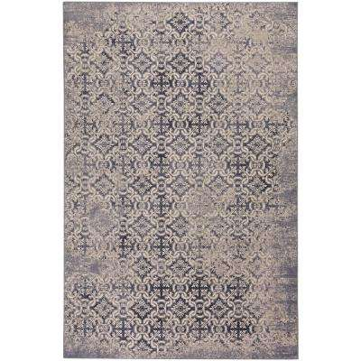 Municipality-Del Mar Medium Blue 7 ft. 10 in. x 11 ft. Area Rug