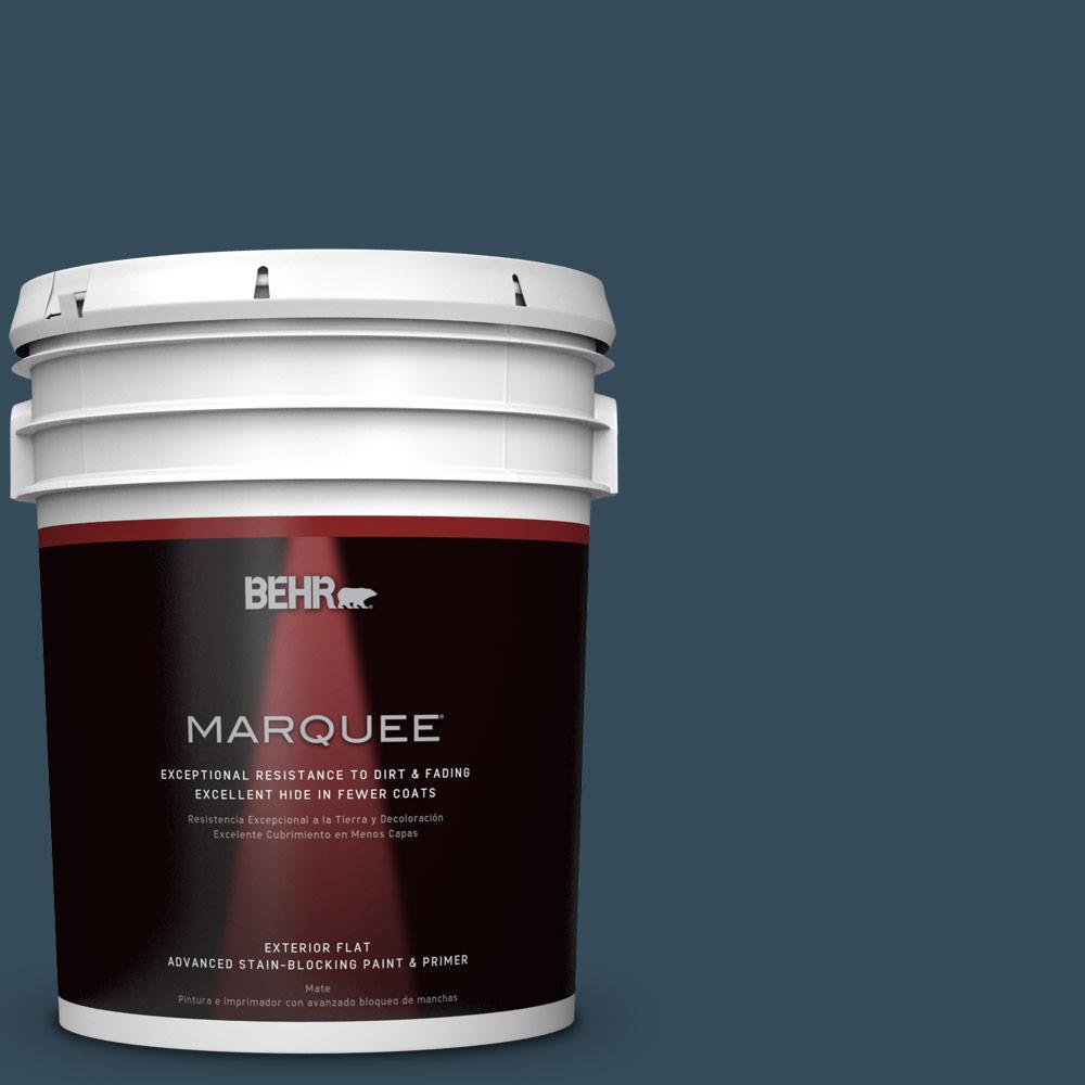 home decorators collection hdc cl 28 nocturne blue exterior paint - Exterior Paint Colors Blue