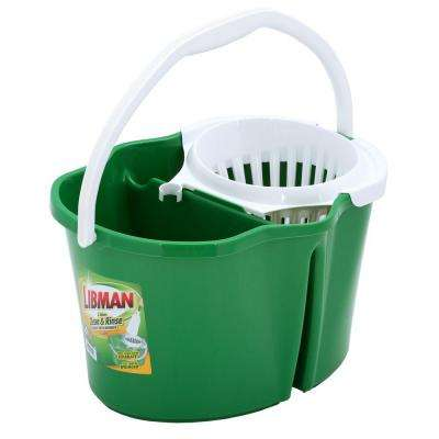 4 Gal. Clean and Rinse Bucket with Wringer