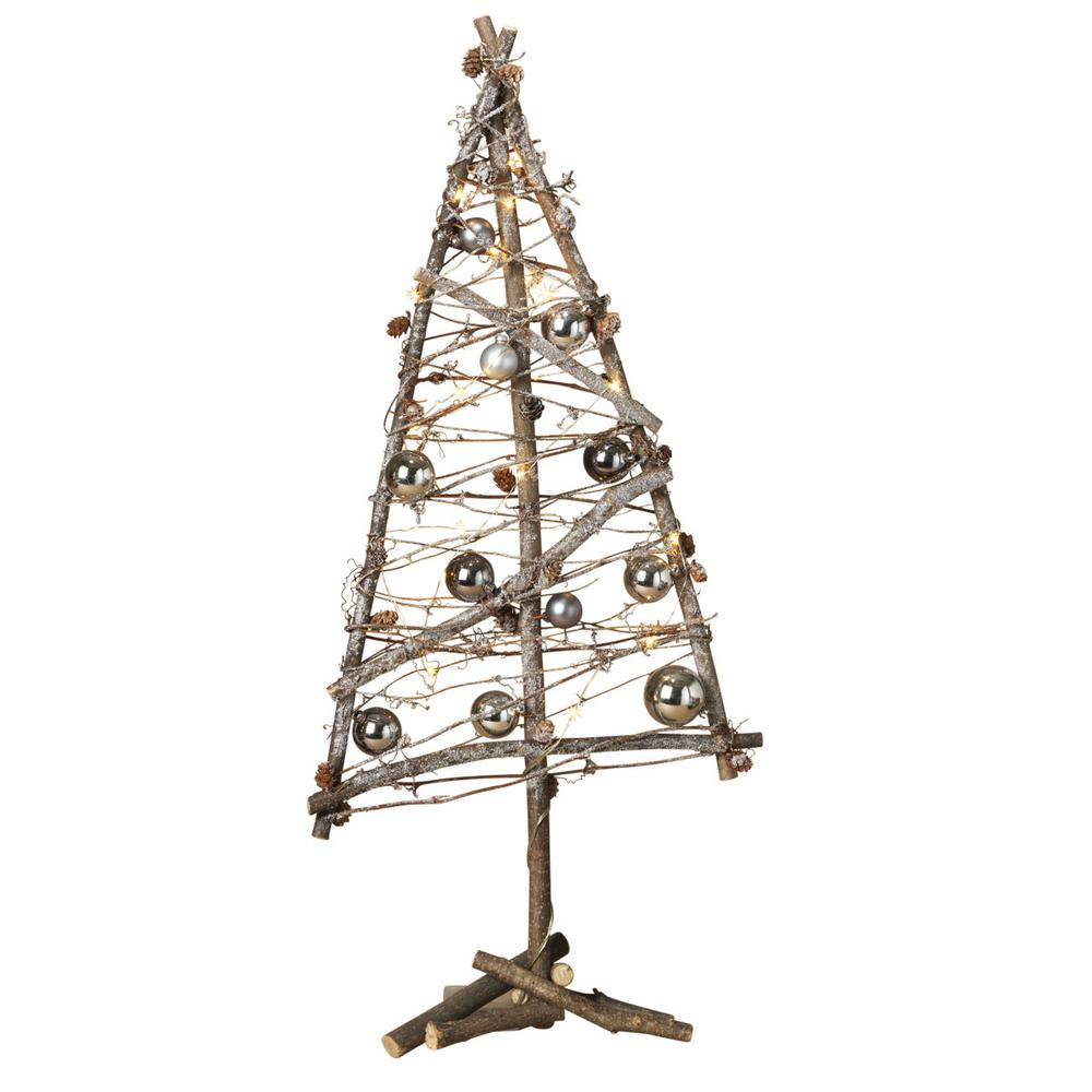 Gerson 31 in. Battery Operated Lighted Twig Tree-2218090EC - The ...