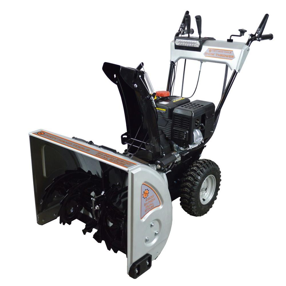 Snow Blower 24 >> Dirty Hand Tools 24 In 2 Stage Gas Snow Blower With 212cc Electric