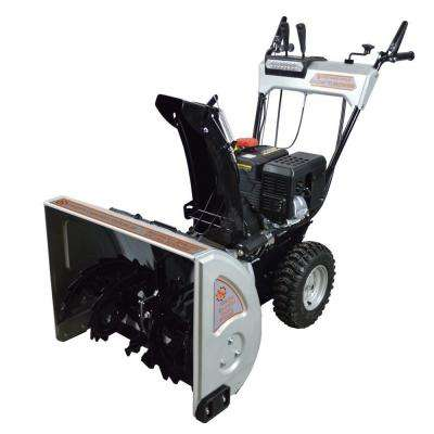 24 in. 2-Stage Gas Snow Blower with 212cc Electric Start Engine