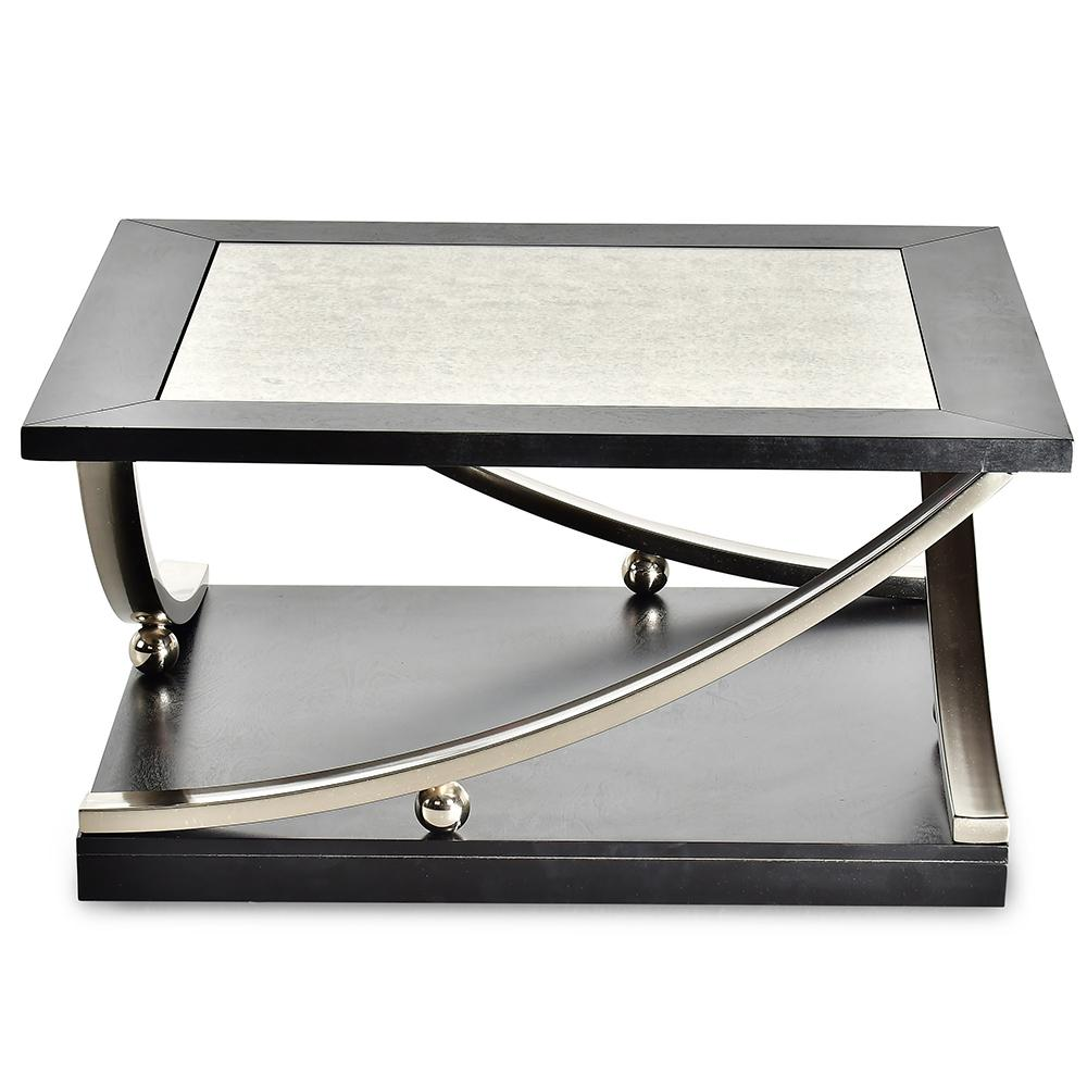 83646f429dbd Ramsey Ebony Square Cocktail Table-RM360CAS - The Home Depot