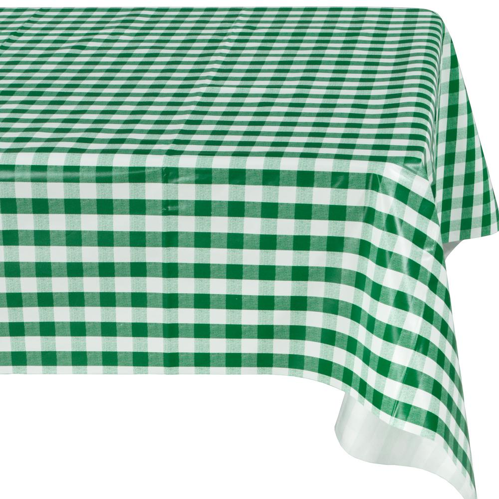 Green Indoor And Outdoor Sunflower Design Table Cloth