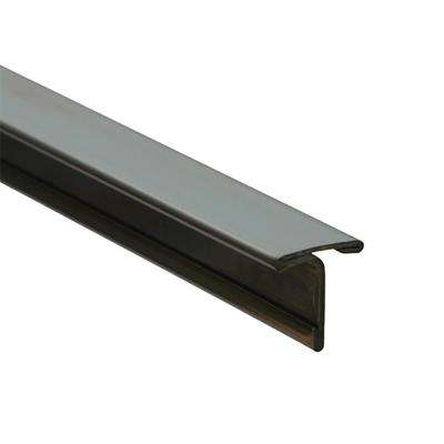 Novosepara 4 High Brightness 1 in. x 98-1/2 in. Stainless Steel Tile Edging Trim