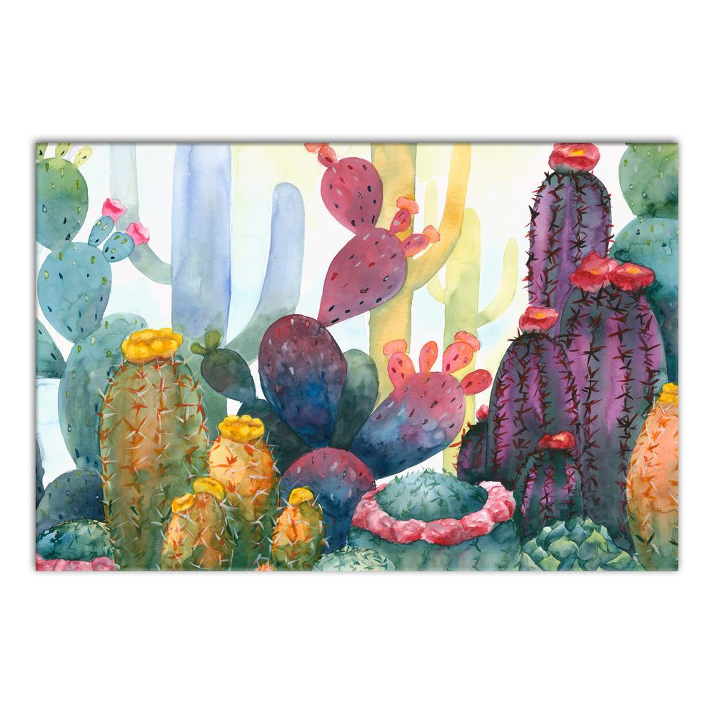 Colorful Blooming Cactus
