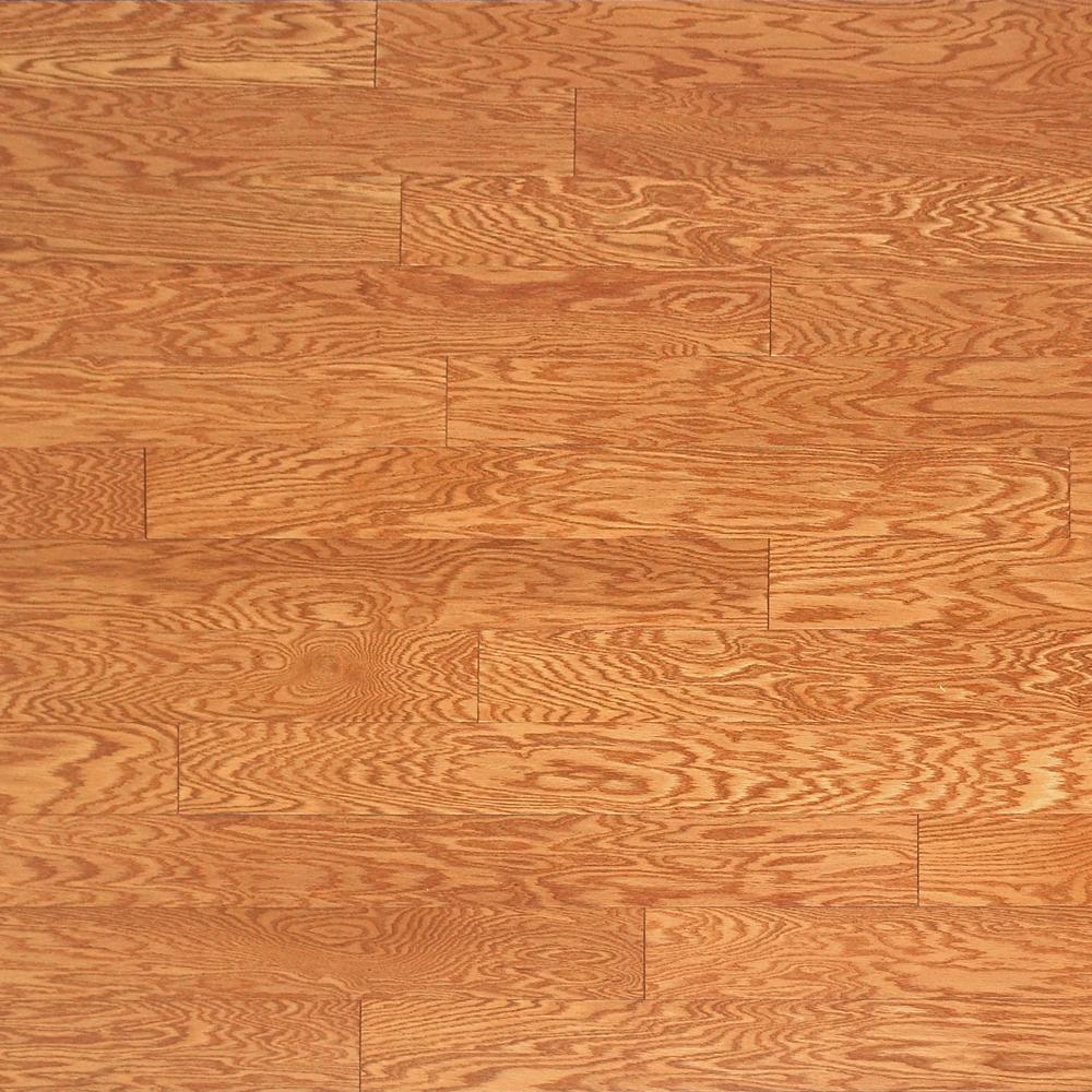 Oak Golden 3/8 in. Thick x 4-3/4 in. Wide x Random Length Engineered Click Hardwood Flooring (22.5 sq. ft. / case)