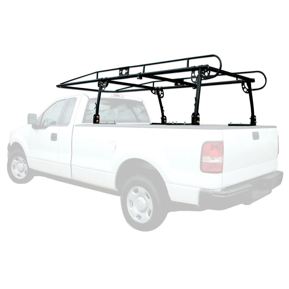 PRO-SERIES 800 lbs. Capacity Heavy Duty Full Size Truck Rack with Adjustable Over-Cab Design