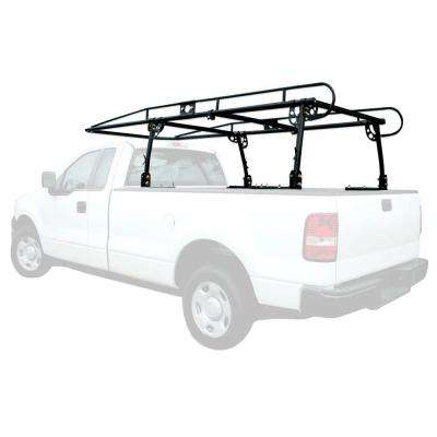 800 lbs. Capacity Heavy Duty Full Size Truck Rack with Adjustable Over-Cab Design