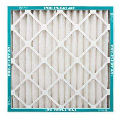 12-Pack 12 in. x 24 in. x 2 in. Prepleat 40 MERV 8 Air Filter