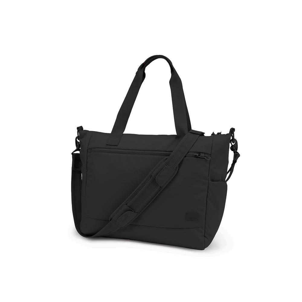 Pacsafe Citysafe CS400 18 in. Black Travel Tote Bag, Women's