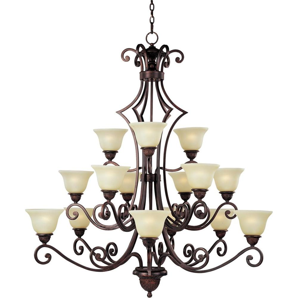 Maxim Lighting Symphony-Multi-Tier Chandelier