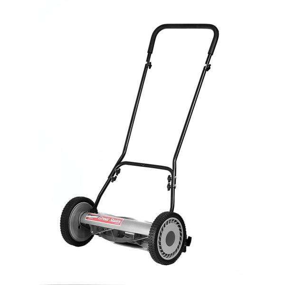 18 in. Manual Walk-Behind Non-Electric Reel Lawn Mower