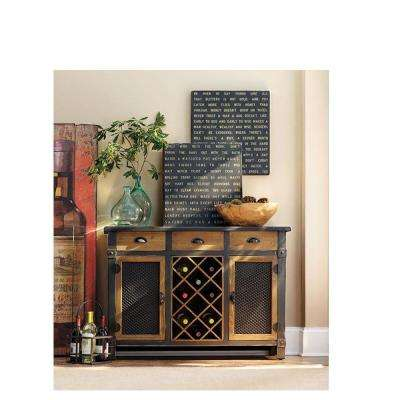 Brown Bar Cabinet