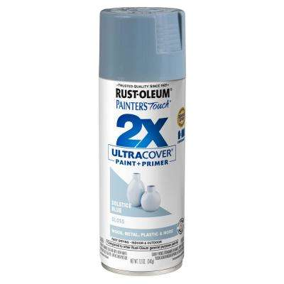 12 oz. Gloss Solstice Blue General Purpose Spray Paint