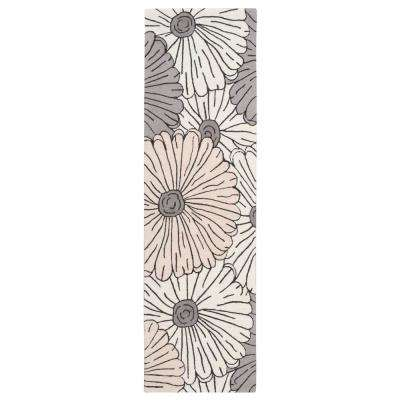 Fantasy Ivory/Multicolor 2 ft. x 8 ft. Runner Rug