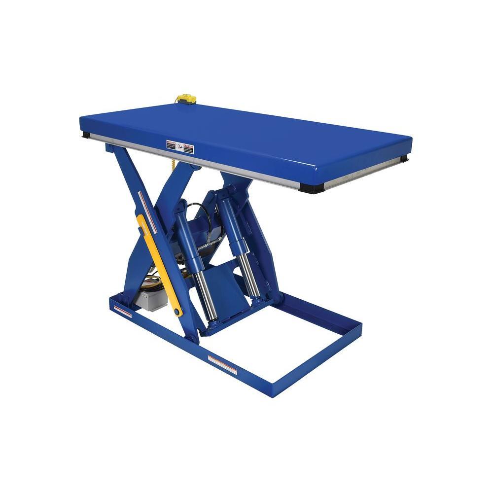 4,000 lb. 30 in. x 60 in. Electric Hydraulic Scissor Lift Table