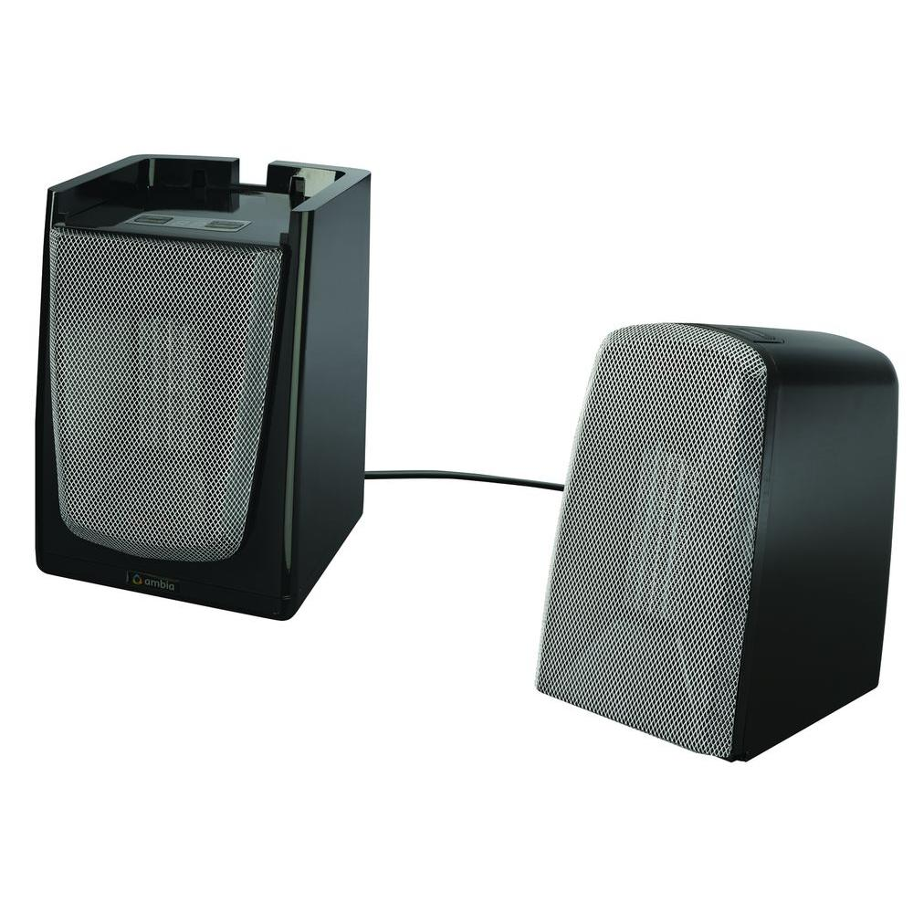 Ambia Dual Control Tower Two Zone Heater