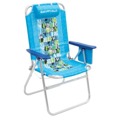 Turquoise Big Shot Aluminum Lawn Chair