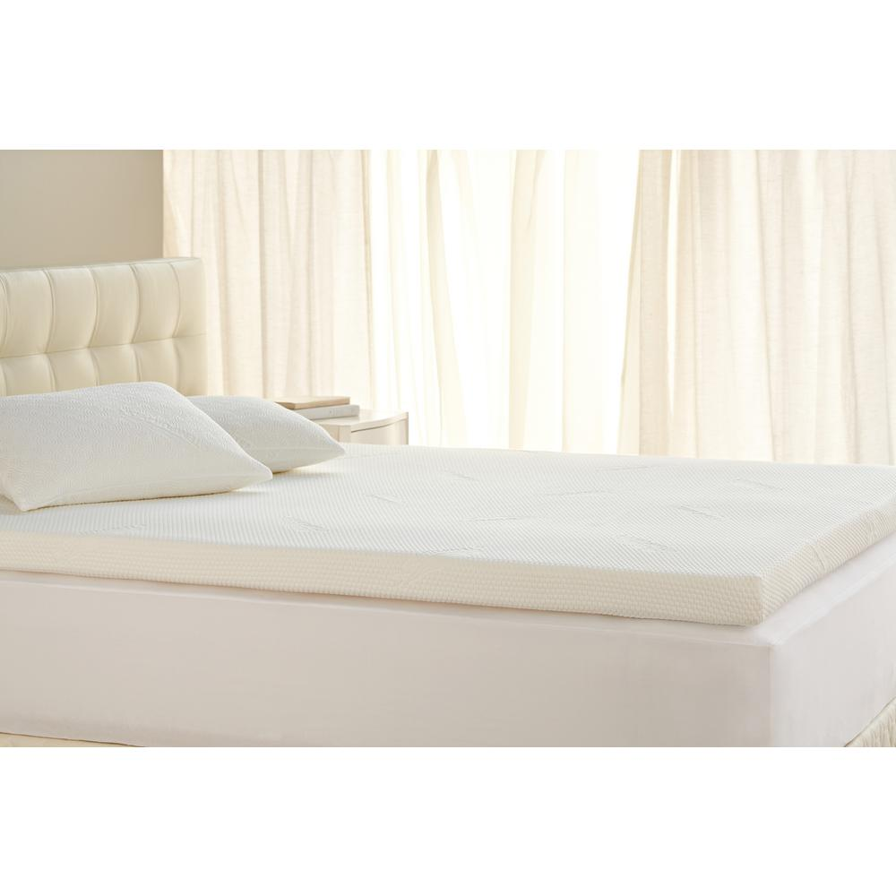Tempur pedic 3 in tempur topper supreme twin xl foam mattress topper 11284120 the home depot Twin mattress xl