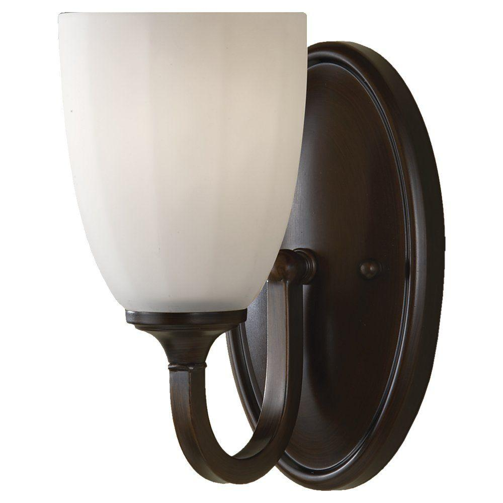 Feiss Perry Heritage Bronze Vanity Light